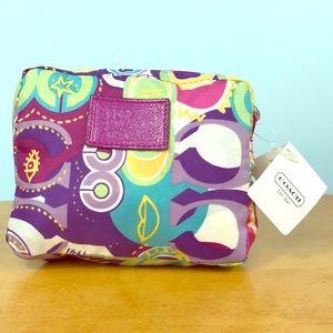 Coach 🌸RARE Pop C Folding Shopping Tote Bag NWT
